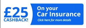 cheap car insurance policies £25 cashback